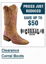 Clearance Corral Boots