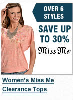 Miss Me Clearance Tops