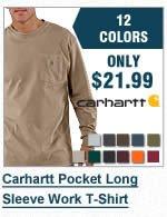 Carhartt Long Sleeve Work Shirt