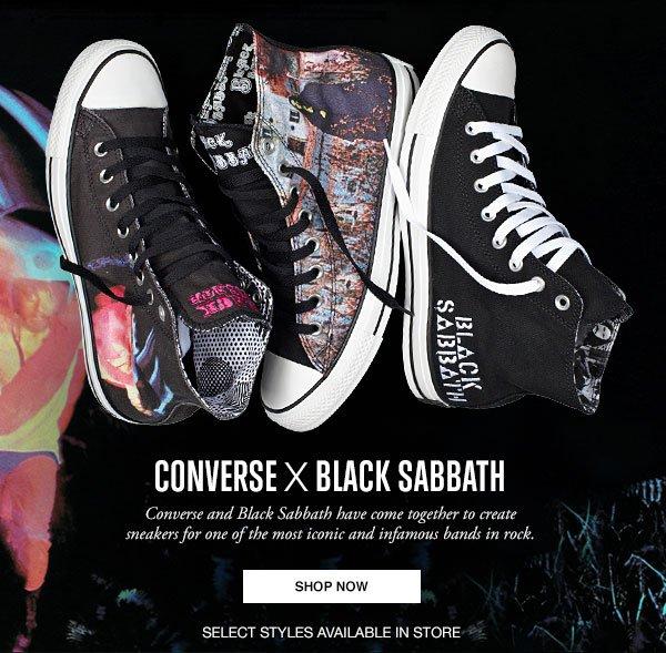 Converse X Black Sabbath