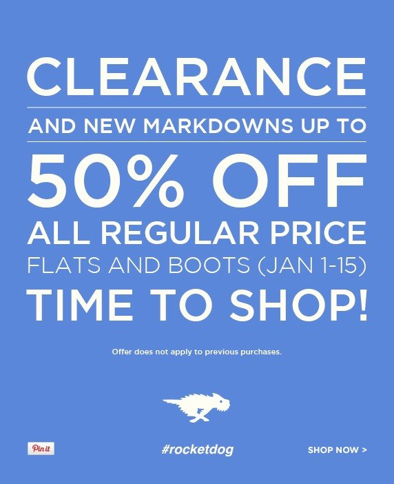 Flats and Boots Sale