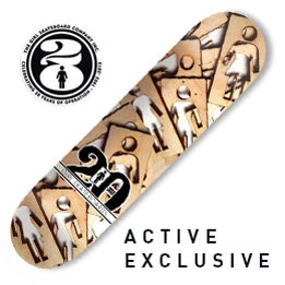 Girl Exclusive 20 Year OG Cut Out Deck