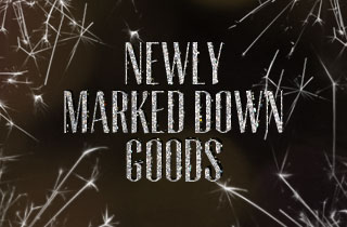 Newly Marked Down Goods