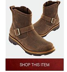 Dunham® Rufus Mid-Zip Buckle Boots