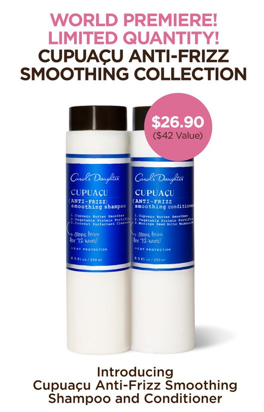 Cpuacu Anti-Frizz Smooting Collection