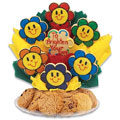 Gluten Free Smiling Face Daisies BouTray™
