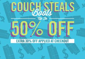 Shop Boot Up: Extra 30% Off