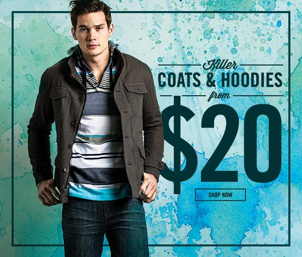 Shop Killer Coats & Hoodies from $20