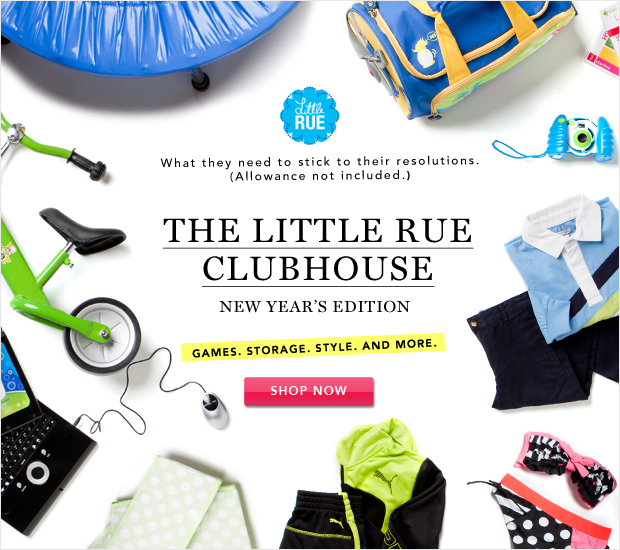 The Little Rue Clubhouse: New Year's Edition