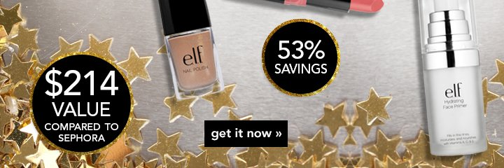 53% Savings - $214 value compared to Sephora