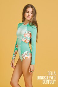 Cella Longsleeved Surfsuit