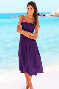 LASCANA Purple 3 in 1 Beach Dress