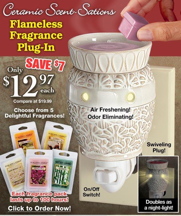 Flameless Fragrance Plug-In $12.97 each