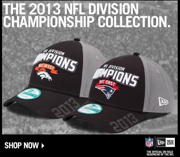 Shop the 2013 NFL Division Championship Cap