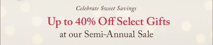 Celebrate Sweet Savings