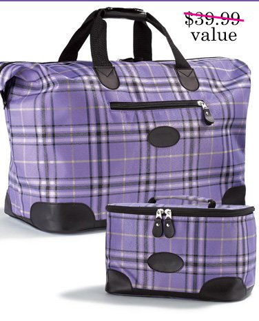 FREE 2 pc Weekender Travel Set with any order of $25 or more. Use promo code WW99310. Expires 1/04/14