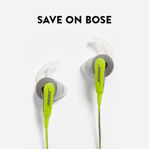 SAVE ON BOSE