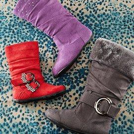 Sweet Strides: Girls' Boots