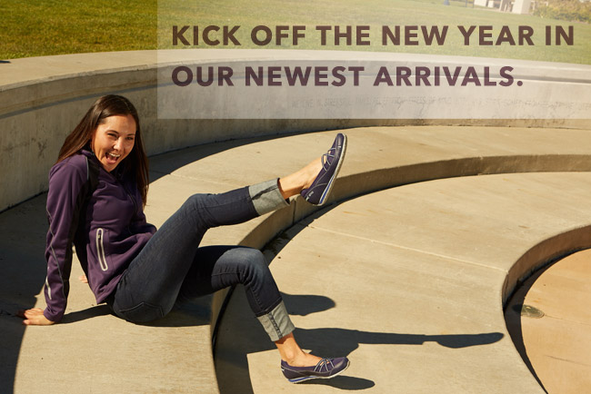 KICK OFF THE NEW YEAR IN OUR NEWEST ARRIVALS.