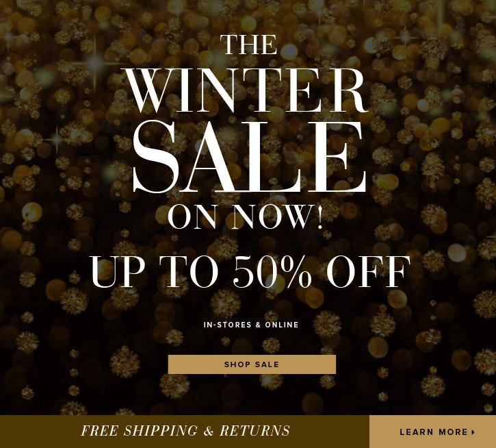 The Winter Sale On Now