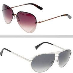 Sunglasses Made by Roberto Cavalli, Calvin Klein & Marc Jacobs