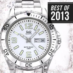 Best of 2013 Brands: Q&Q by Citizen Watches
