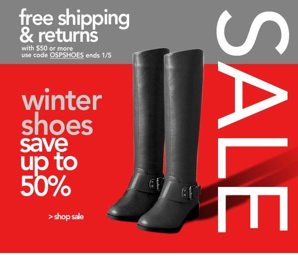 Shop Shoe Sale