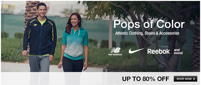 Athletic Clothing, Shoes and Accessories
