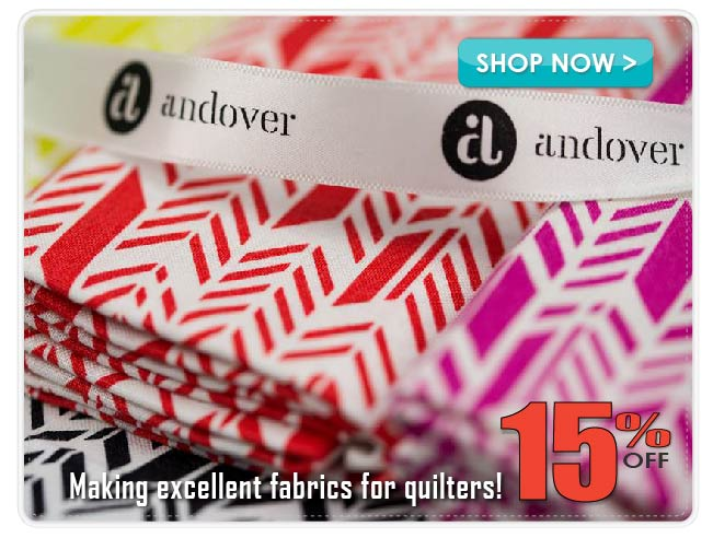 15% Off Andover Cotton Prints