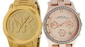 Michael Kors, Gucci, Toy Watch and more