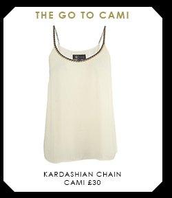 Kardashian Chain Cami