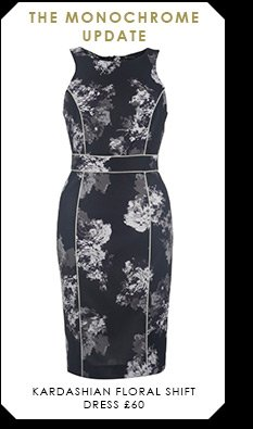Kardashian Floral Shift Dress