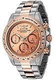 Invicta 6933 Men's Two Tone Rose Gold Speedway Chronograph
