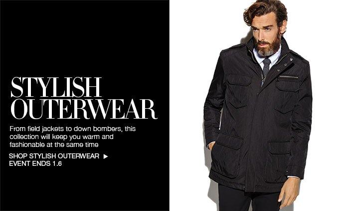 Shop Stylish Outerwear - Men's