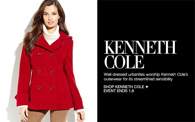 Shop Kenneth Cole Outerwear - Ladies