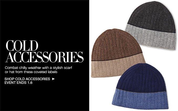 Shop Cold Weather Accessories - Men's