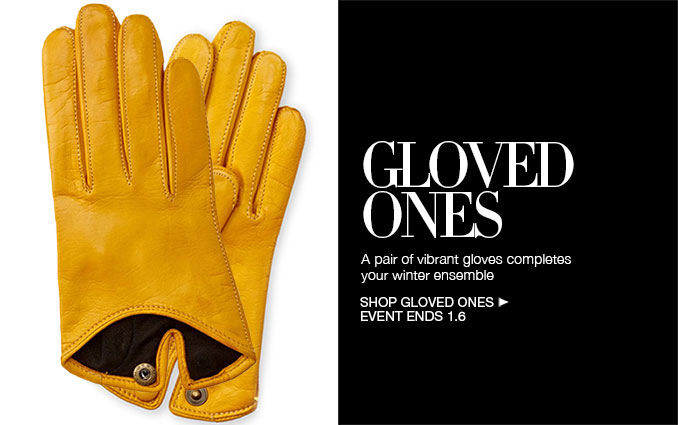Shop Leather Gloves - Ladies
