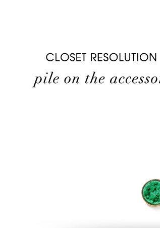 CLOSET RESOLUTION #2