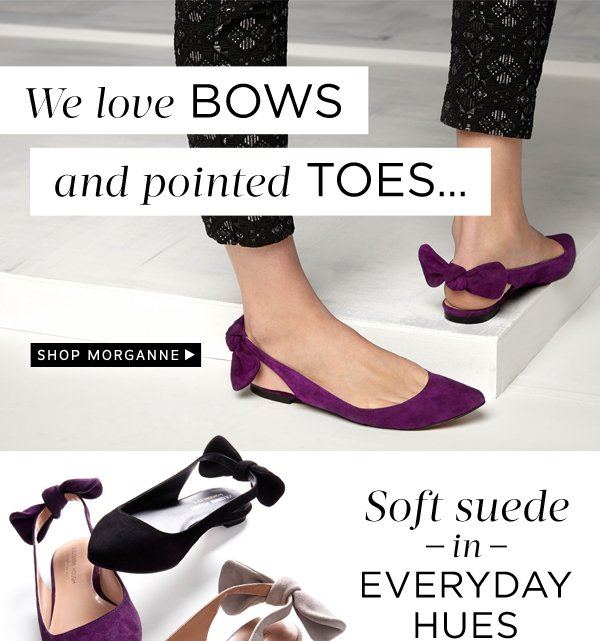 We Love Bows and Pointed Toes: Shop Morganne
