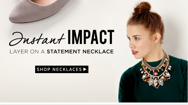 Instant Impact: Shop Statement Necklaces