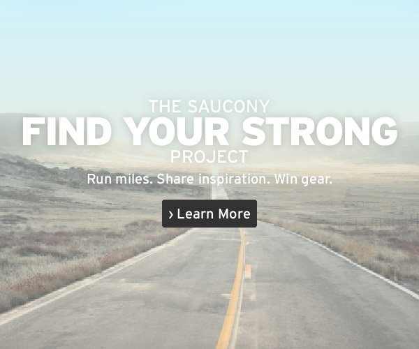 The Saucony Find Your Strong Project