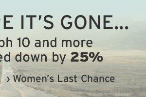 Men's Last Chance...