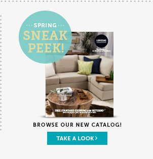 Spring Sneak Peek: Browse Our New Catalog - Take a Look!