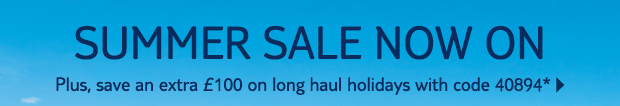 Thomson Summer Sale Now On