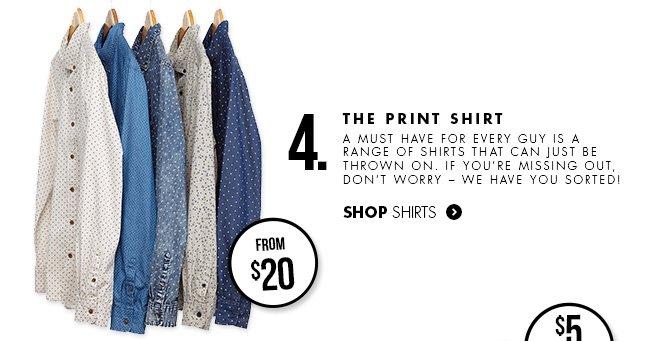 The Print Shirt