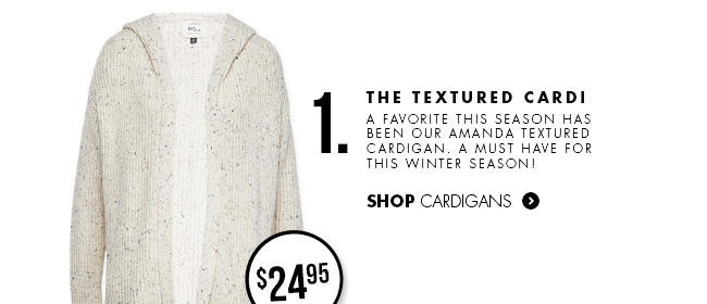 The Textured Cardi