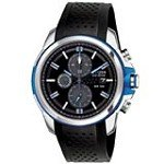 Citizen CA0421-04E Drive Collection Men's AR 2.0 Eco-Drive Black Dial Chronograph Black Band Watch