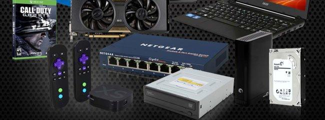 Game, VGA, TVbox, Router, ODD, HDD