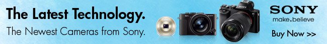 Sony - The Latest Technology. The Newest Cameras from Sony.