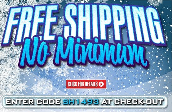Free Standard Shipping on Your Order!